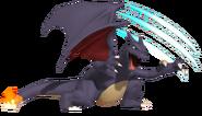 1.4.Gen 1. Shiny Charizard slashing