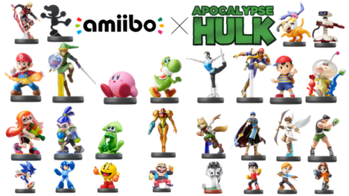 Amiibo x Apocalypse Hulk