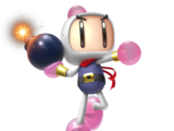 White Bomberman