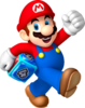 Mario Artwork (alt) - Mario Party Island Tour