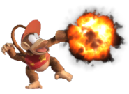 1.8.Diddy Kong's Peanut Pop-Gun Exploding