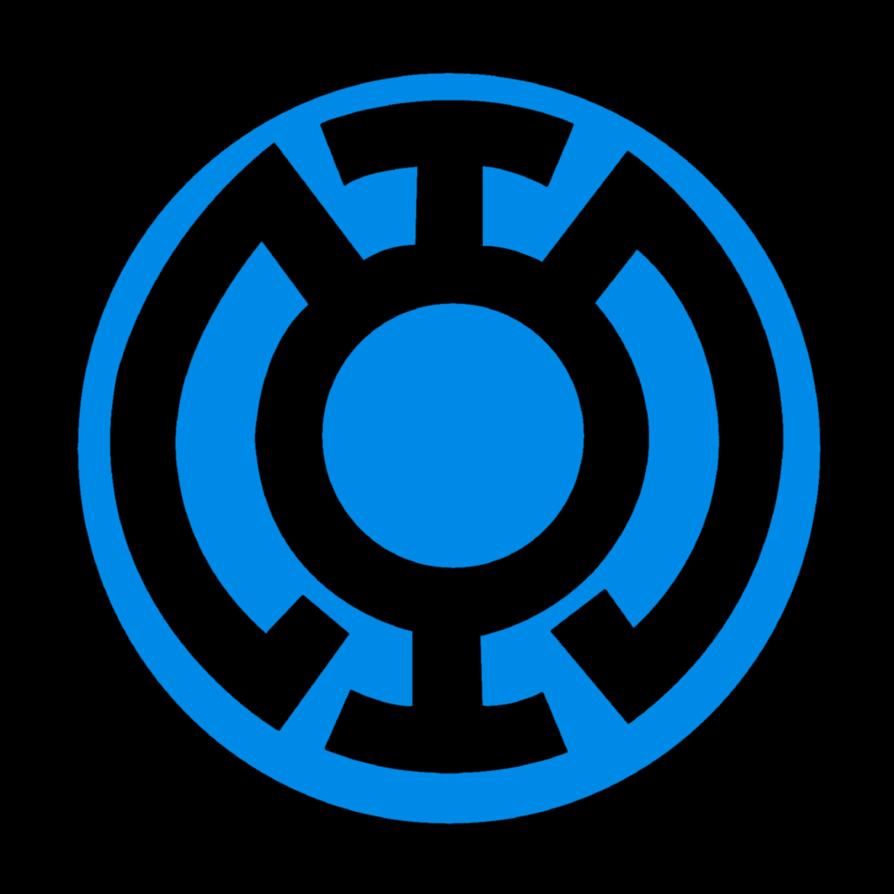 Image Blue Lantern Corps Symbol Fill By Mr Droy D613gryg