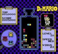 Dr. Mario stage