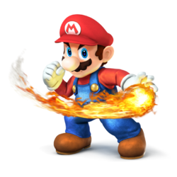 SSB3DSWIIU Mario