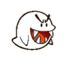 Paper Boo (Bloo Kart)