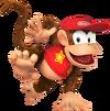 473px-Diddy Kong SSB4 - Artwork