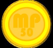50-Worth Coin