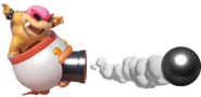 1.2.Roy Koopa shooting a Cannonball
