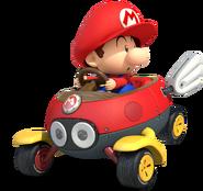 Baby Mario Artwork - Mario Kart 8