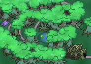Forest of the Wisps Map