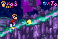 GoldenFist Rayman2
