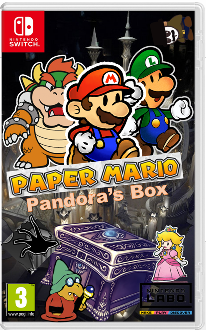The Origami King folds The Paper Mario Games! And All ...