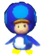 Penguin Blue Toad