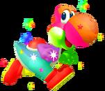 Rainbow Yoshi
