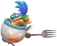 0.4.Larry Koopa using a fork