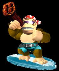 Splasher Funky Kong