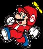 2D Propeller Mario