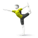 ACL - SSBSwitch recolour - Wii Fit Trainer 6