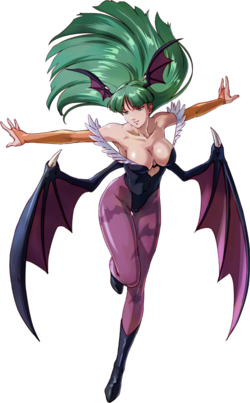 Morrigan-project-x-zone