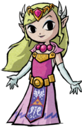 TWW Princess Zelda Artwork