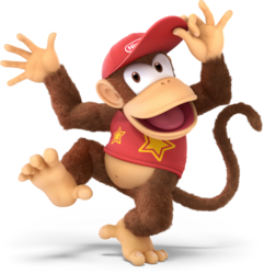 DiddyKong SSBUltimate