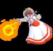Fire Daisy 3D
