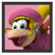 JSSB Character icon - Dixie Kong