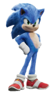 Sonic the Hedgehog film render