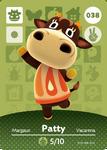 Ac amiibo card patty