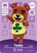 Ac amiibo card s2 teddy