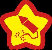 KRotD Firework Kirby Star