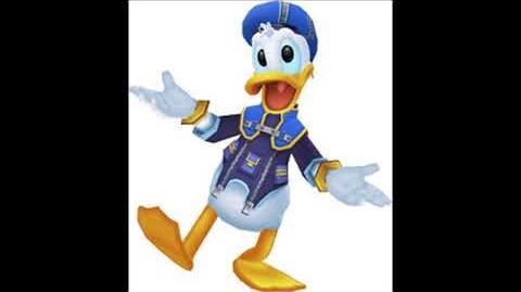 Kingdom Hearts 3D Dream Drop Distance - Donald Duck Voice Clips