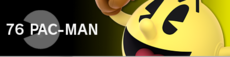 PacMan banner