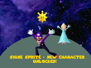Shine Sprites + New Character Unlocked Cosmimic Battle SM64D