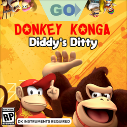 DK Diddy's Ditty Boxart GO