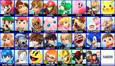 Elementals Starters Roster