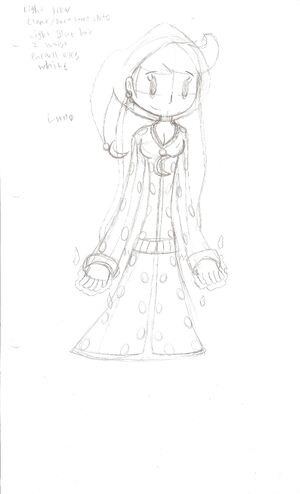 Luna Sketch by WereWaffle