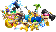 Pietro in group of Koopalings