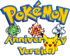 Pokemon Anniversary Version