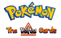Pokemon The Delta Cards Logo