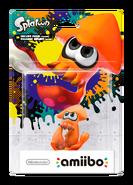 Amiibo - Splatoon - Inkling Squid Orange - Box