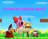Birdo's Beautiful Quest Ending Picture
