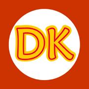Donkey kong kart flag by rafaelmartins-d4qeae7