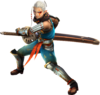 Hyrule Warriors Impa Longsword Artwork