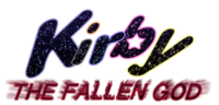 Kirby the Fallen God Deluxe Logo