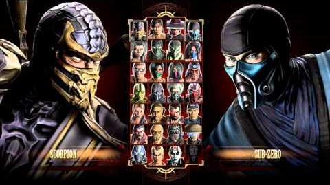 Mortal Kombat 9 FULL Select Screen Theme