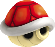 Red Shell Artwork - Mario Kart 7