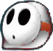 White Shy Guy Icon MGGT