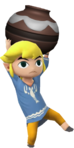 1.4.Outset Toon Link Holding a Pot