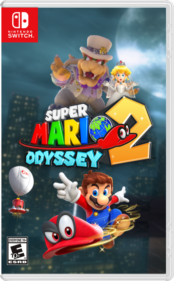 Super Mario Odyssey 2 (Popplio Power's Edition) | Fantendo